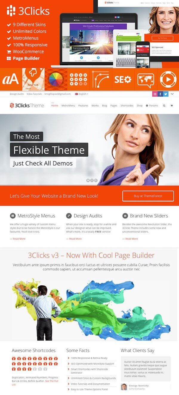 3clicks-wordpress-thema