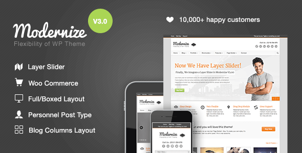 modernize-wordpress-thema