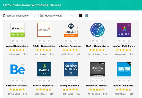 WordPress websites voor bedrijven