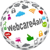 Logo webcare4all webdesign en online marketing