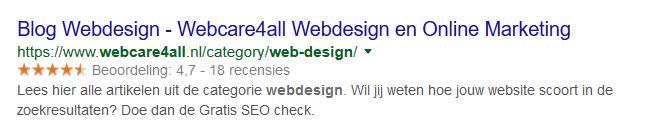 wat zijn snippets google
