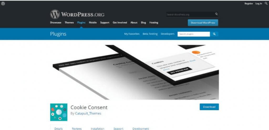 Cookie melding plugin 2