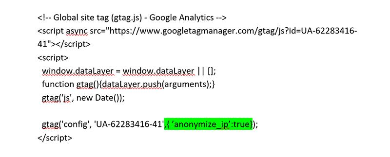 Privacyvriendelijk instellen van Google Analytics