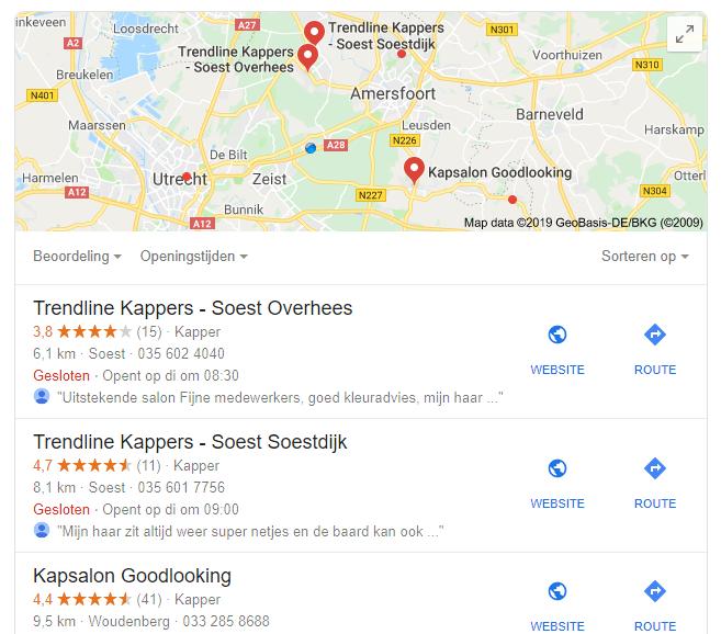 seo voor meerdere locaties