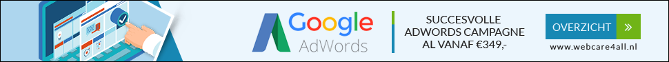 Website hoger in google ads